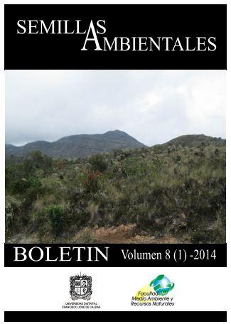Ver Vol. 8 Núm. 1 (2014): Boletín Semillas Ambientales