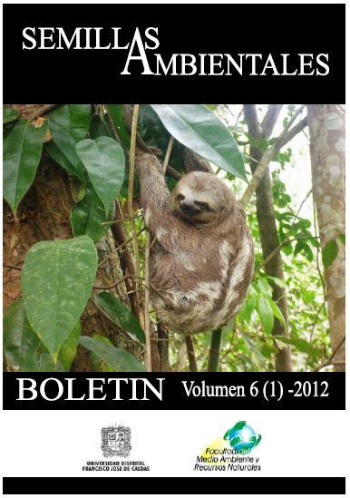 Ver Vol. 6 Núm. 1 (2012): Boletín Semillas Ambientales
