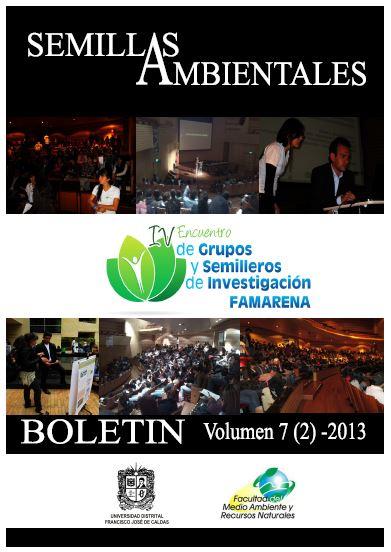 Ver Vol. 7 Núm. 2 (2013): Boletín Semillas Ambientales