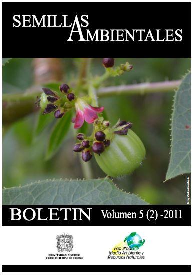 Ver Vol. 5 Núm. 2 (2011): Boletín Semillas Ambientales