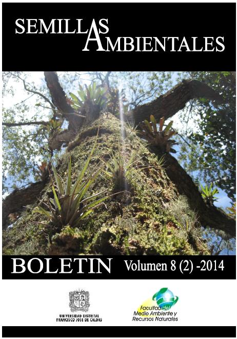 Ver Vol. 8 Núm. 2 (2014): Boletín Semillas Ambientales