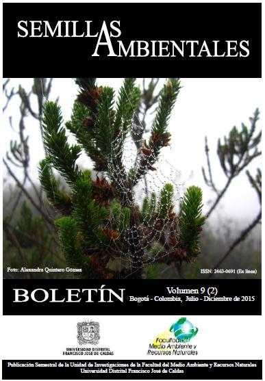 Ver Vol. 9 Núm. 2 (2015): Boletín Semillas Ambientales