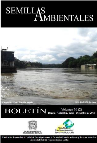 Ver Vol. 10 Núm. 2 (2016): Boletín Semillas Ambientales