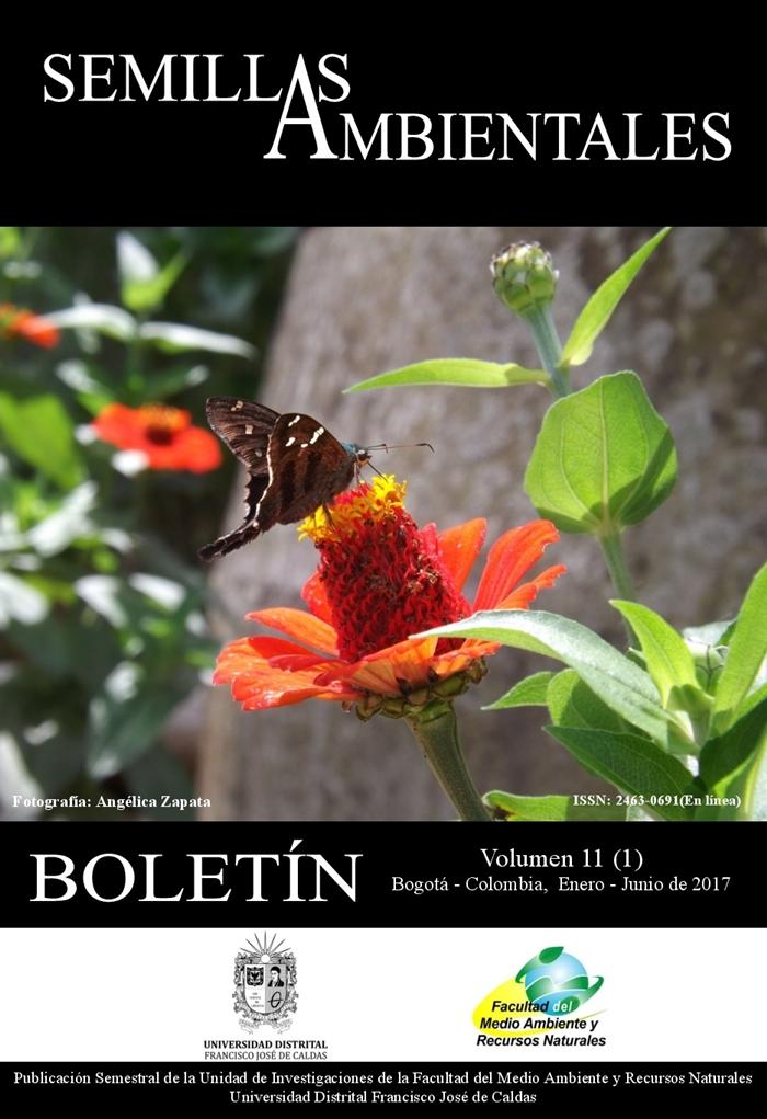 Ver Vol. 11 Núm. 1 (2017): Boletín Semillas Ambientales