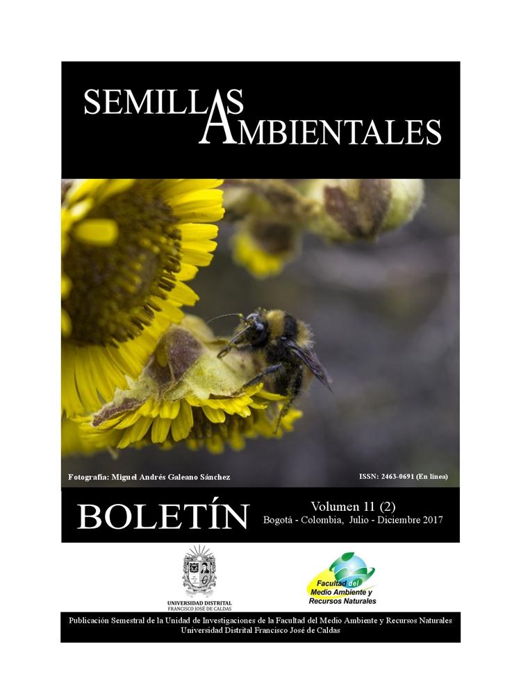 Ver Vol. 11 Núm. 2 (2017): Boletín Semillas Ambientales