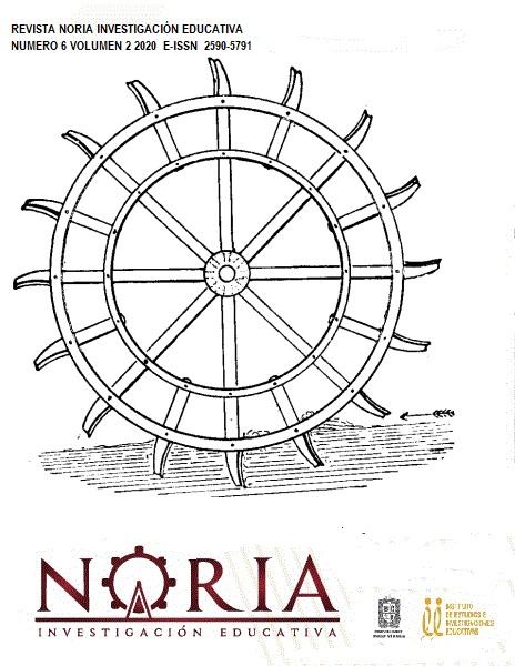 Ver Vol. 2 Núm. 6 (2020): Revista Noria - Investigación Educativa