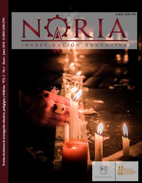 Portada Revista Noria v.2 N.1