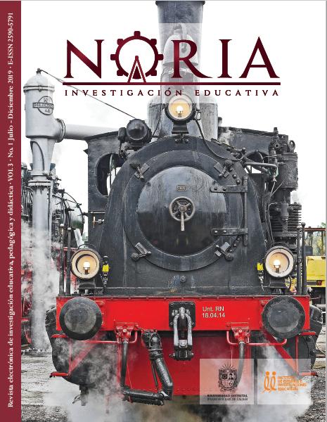 Portada de la Revista Noria 3-1