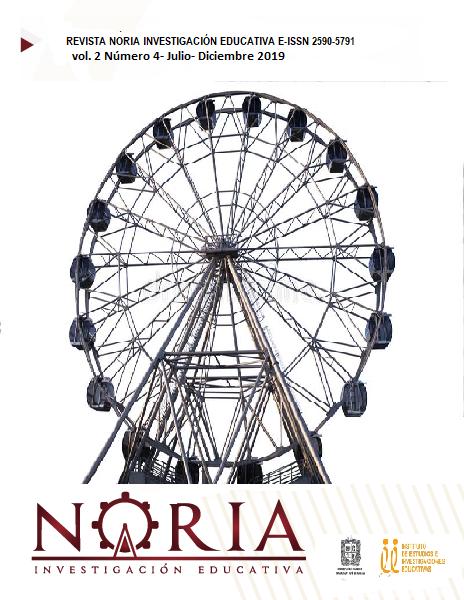 Ver Vol. 2 Núm. 4 (2019): Revista Noria Investigación Educativa