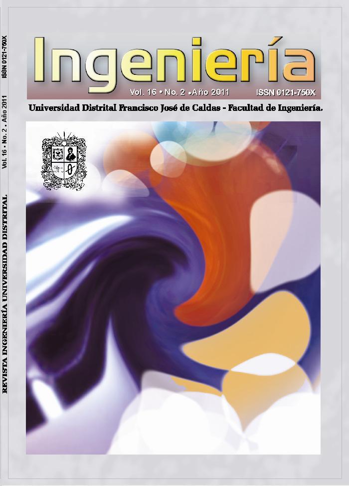Revista INGENIERÍA, Vol. 16, No. 2, 2011