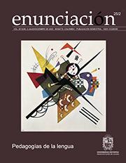 Ver Vol. 25 Núm. 2 (2020): Pedagogías de la lengua (Jul-Dic)