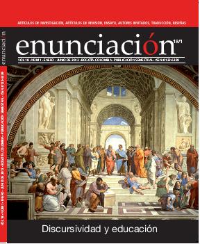 Ver Vol. 18 Núm. 1 (2013): Discursividad y educación (Ene-Jun)