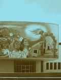 """""""La medicina en el Cauca"""". Mural. Fotografía: Felipe García Quintero, tomada del catálogo"""