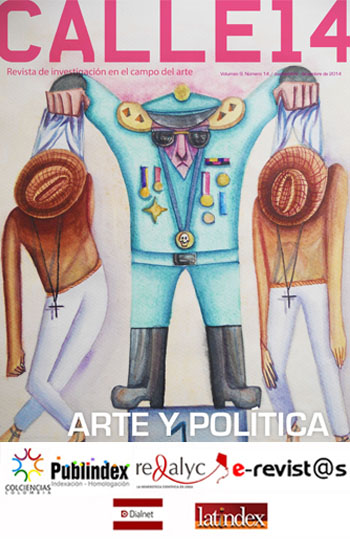 Ver Vol. 9 Núm. 14 (2014): Arte y política