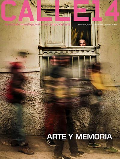 Ver Vol. 10 Núm. 17 (2015): Arte y memoria